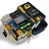 Ящик для снастей AQT-2702 двухъярусный, со съемными перегородками, 40х19.5х21 см, фото 4