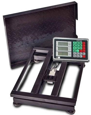 Весы товарные (торговые) ПРОК ВТ-150-Р1 (150 кг, 300*400), фото 2