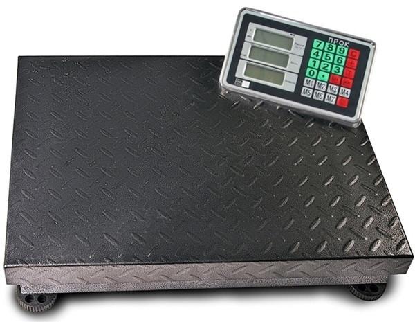 Весы торговые напольные ПРОК ВТ-300-УР (300 кг, 400*500)