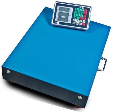 Підлогові ваги торговельні бездротові ПРОК ВТ-300-WiFi (300 кг, 400*500), фото 2