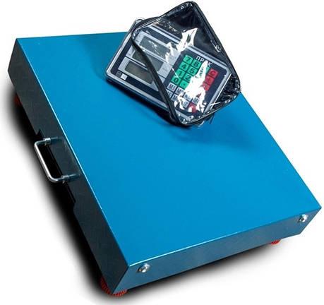 Весы торговые напольные беспроводные ПРОК ВТ-100-WiFi (100 кг, 320*420), фото 2