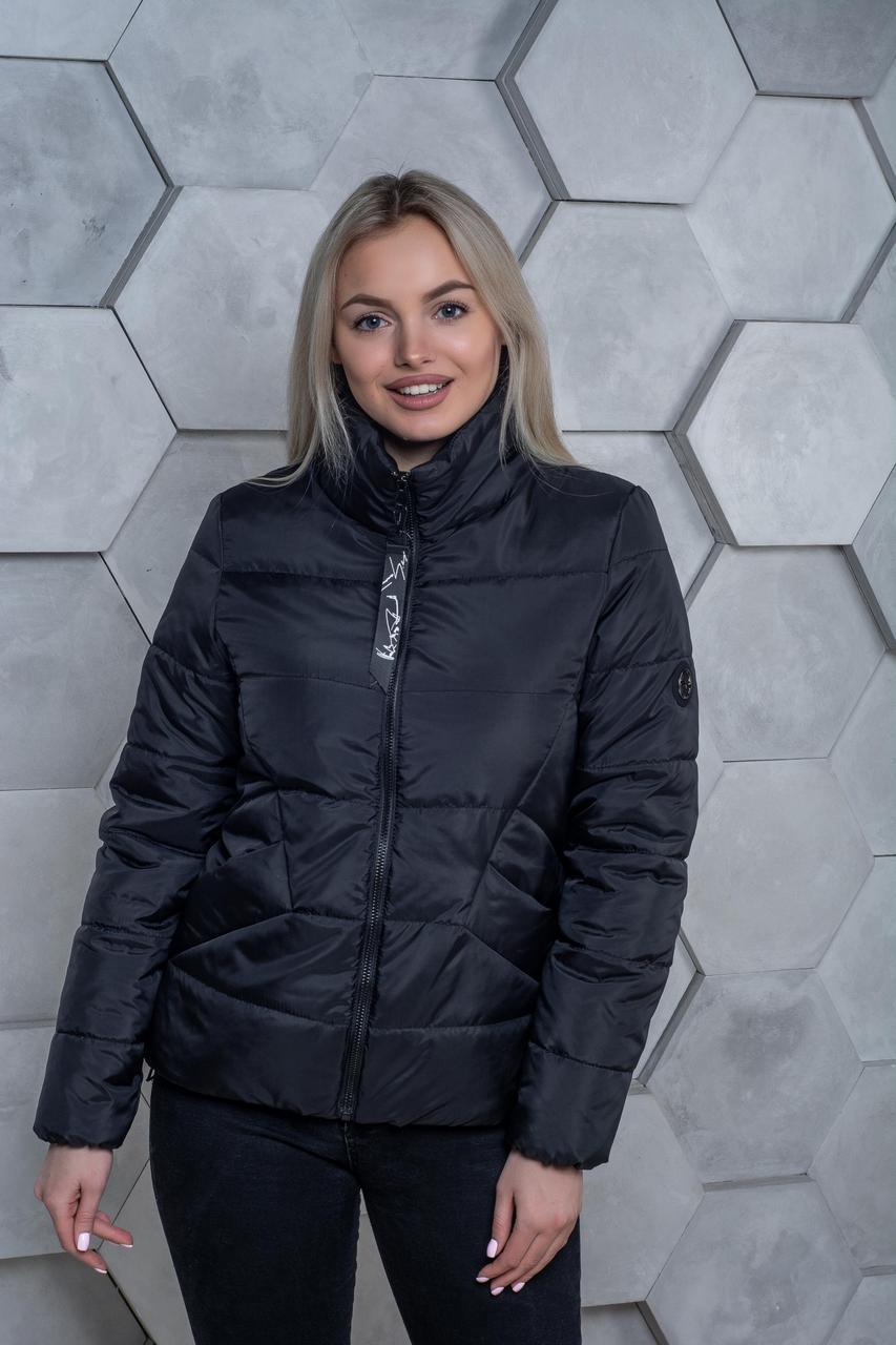 Демисезонная куртка К 00031 с 01 черный