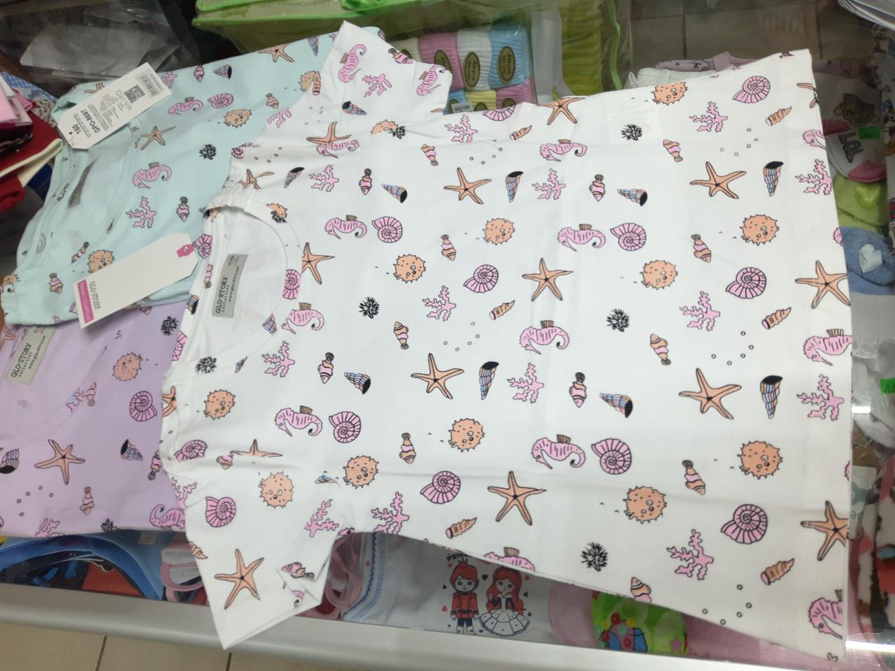 Дитяче підліткове футболка для дівчинки р. 110 116 122
