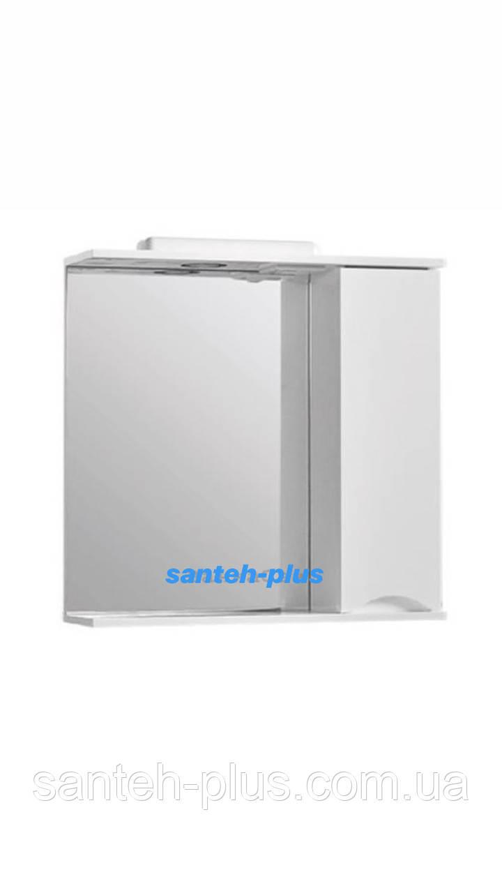 Зеркало для ванной комнаты серии Смайл - 65 см правое и левое