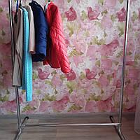 Вешалка стойка напольная для одежды, металлическая