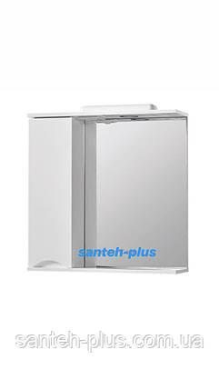 Зеркало для ванной комнаты серии Смайл-70 см левое и правое, фото 2