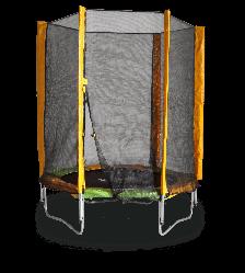 Батут KIDIGO 140 см с защитной сеткой (61004)