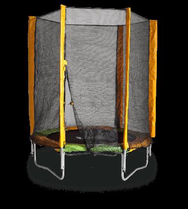 Батут KIDIGO 140 см с защитной сеткой (61004), фото 2