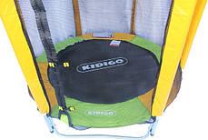 Батут KIDIGO 140 см с защитной сеткой (61004), фото 3