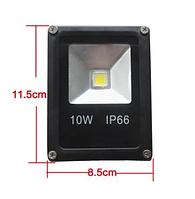 Прожектор 10 W LED Outdoor Light влагозащищенный фонарь IP66, фото 1