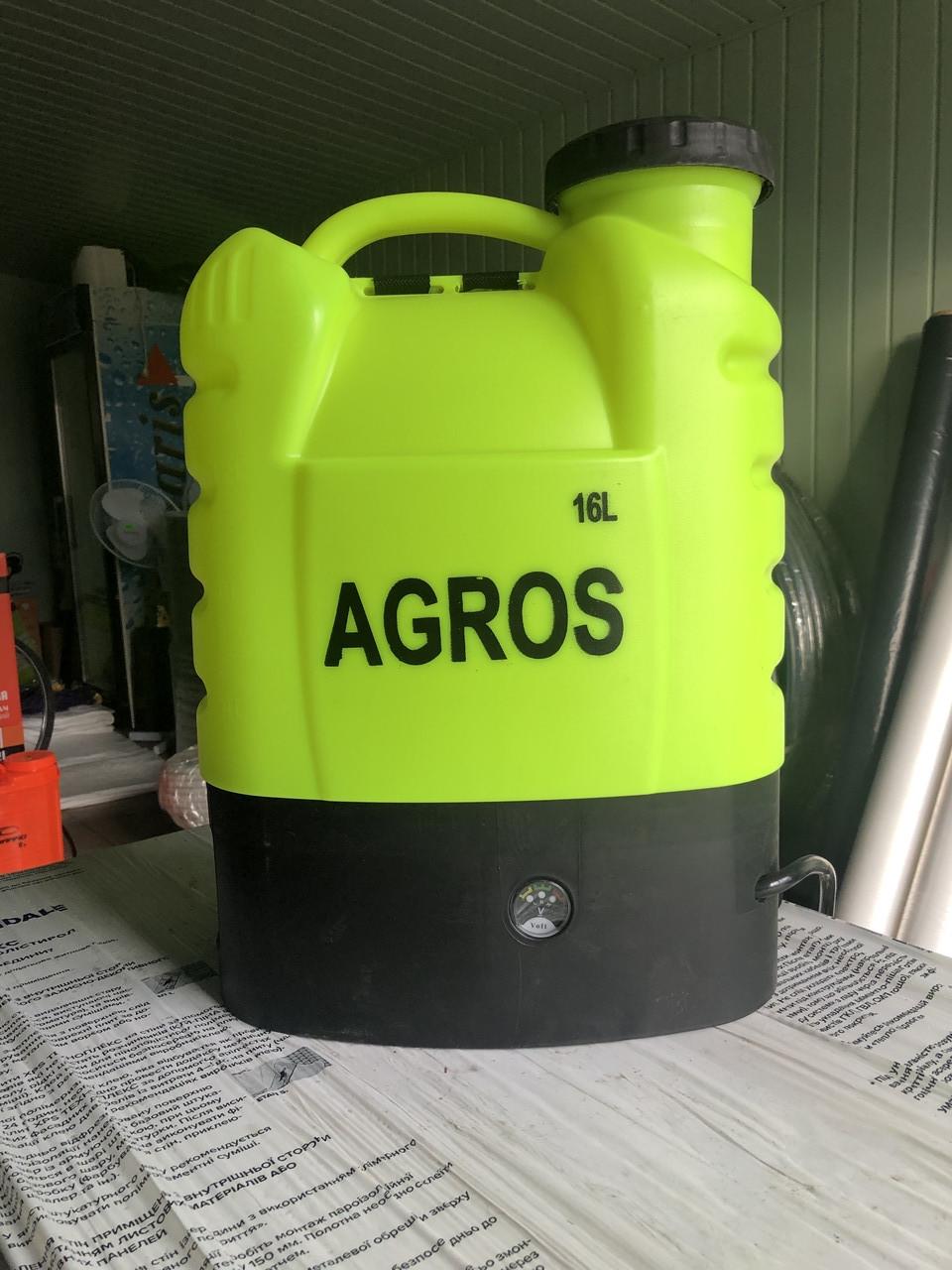 Обприскувач акумуляторний Агрос-16
