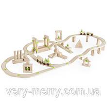 Деревянная дорога Guidecraft Block Science Мосты мира, 92 детали (G2110R)