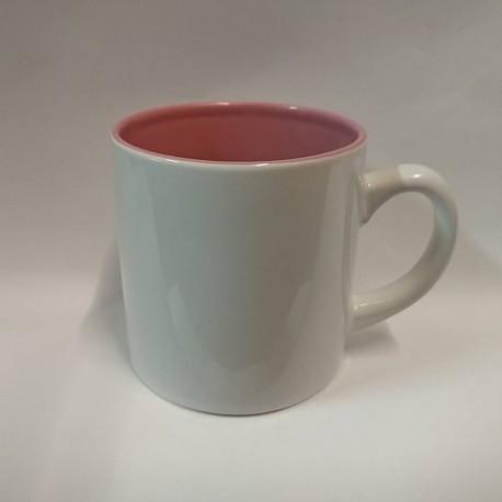 Чашка для сублимации цветная внутри 150 мл (розовый)