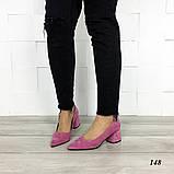 Туфли из натуральной замши, фото 3