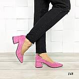 Туфли из натуральной замши, фото 4