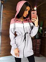 Легкая женская куртка-ветровка ONE-SIZE S/M