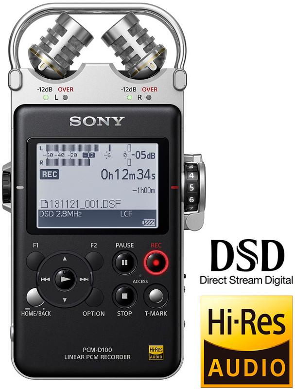 Sony PCM-D100 Рекордер Для Записи Звука