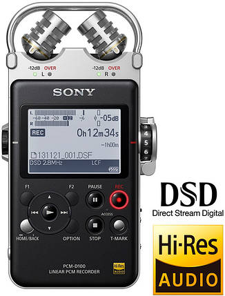 Sony PCM-D100 Рекордер Для Записи Звука, фото 2