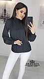 """Блуза с бантом в горошек """"Эстер"""".Распродажа, фото 3"""