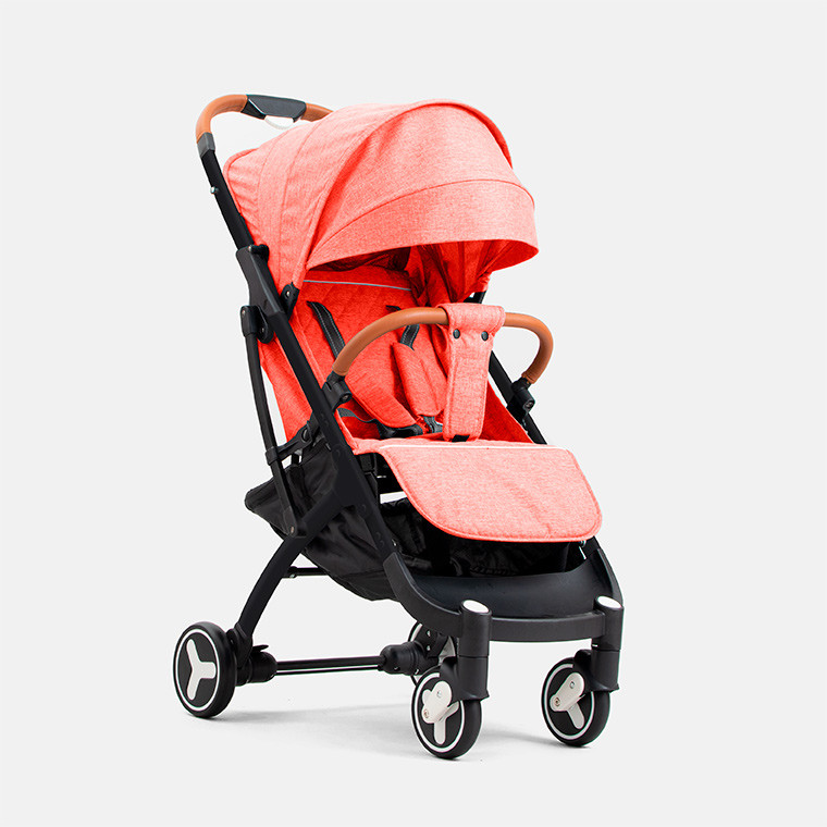 Детская прогулочная коляска YOYA plus 3 Красная черная рама