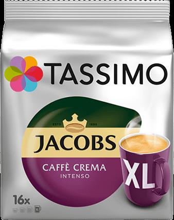Кофе в капсулах Tassimo Jacobs Caffe Crema Intenso XL 16 порций. Германия (Тассимо)