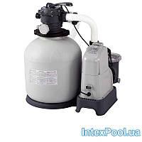 Песочный насос с хлоргенератором Intex 28676, 6 000 л/ч хлор 7 г/ч, 23 кг