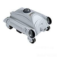 Автоматический подводный робот - пылесос для бассейнов, вакуумный пылесос Intex 28001 для очистки дна, от насоса мощностью 6 028 л/ч