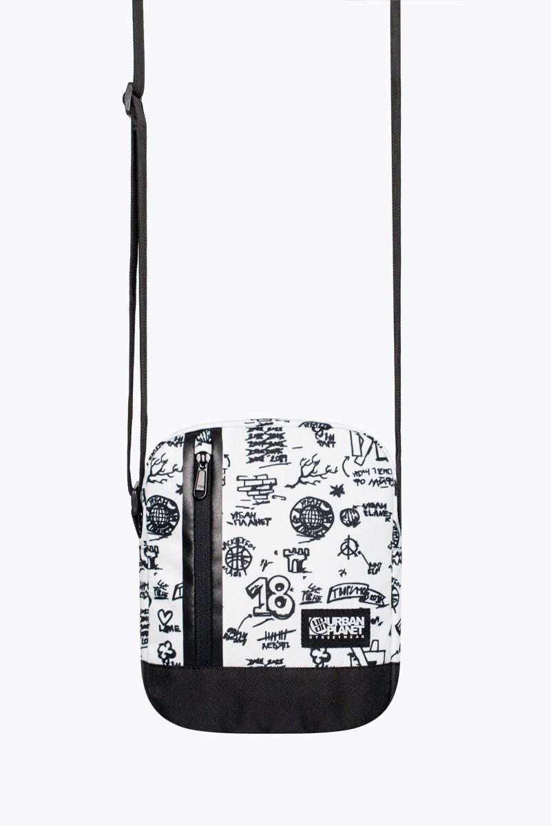 Месенджер(сумка) Urban Planet сумка через плече, органайзер M5 DRAW WHT