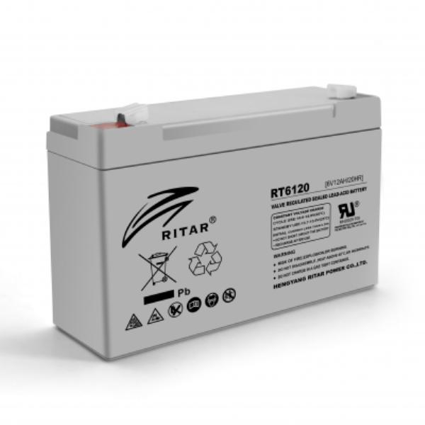 Аккумуляторная батарея AGM Ritar RT6120A 6V 12Ah