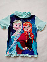 Солнцезащитная пляжная футболка Frozen от Disney р.74/80, 86/92