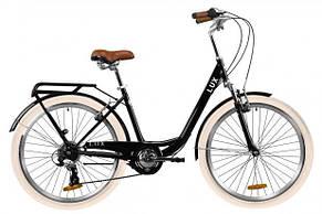 """Велосипед городской женский 26"""" Dorozhnik Lux AM Vbr 2020 стальная рама 17"""", фото 2"""