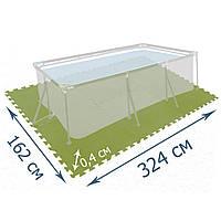 Мат-подложка для бассейна Bestway 58265, 324 х 162, набор 8 шт (81 х 81 см)
