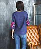 Яркая блуза-вышиванка женская (размеры XS-3XL в расцветках), фото 4
