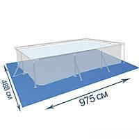 Подстилка для бассейна IntexPool 55022, 975 х 488 см, прямоугольная