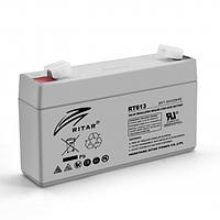 Аккумуляторная батарея AGM Ritar RT613 6V 1.3Ah