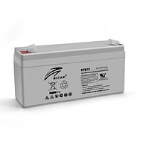 Аккумуляторная батарея AGM Ritar RT632 6V 3.2Ah