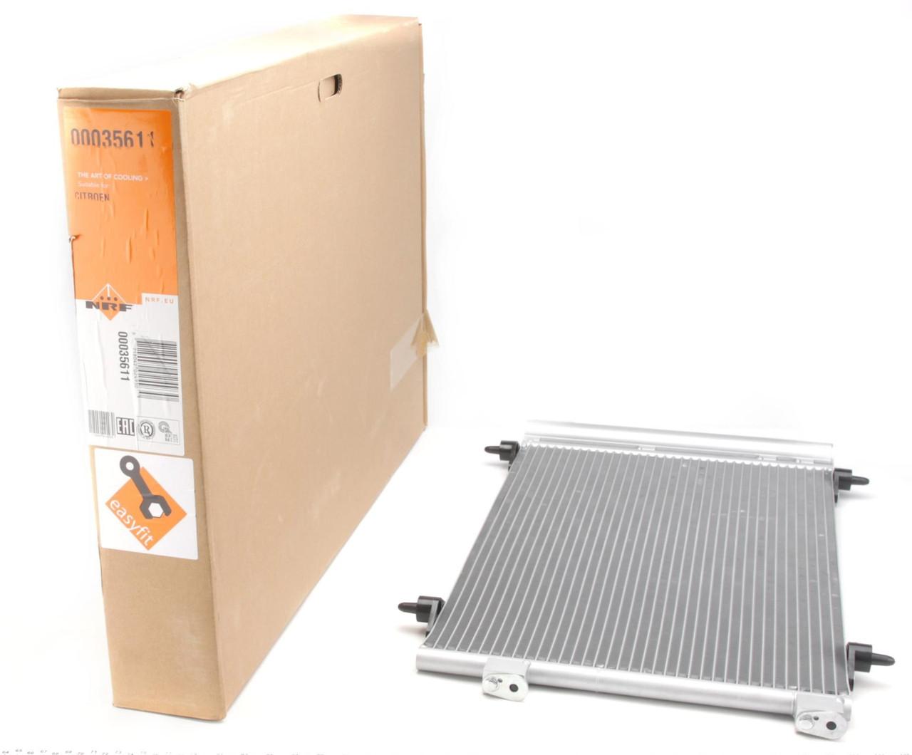 Радиатор кондиционера Citroen Berlingo 1.6i 2008-2018 NRF 35611