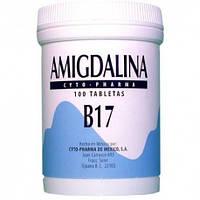 Витамин B17, амигдалин (Amygdalin), 100 мг, 100 таблеток