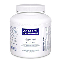 Незаменимые аминокислоты, Essential Aminos, 180 капсул