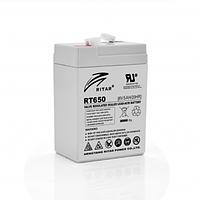 Аккумуляторная батарея AGM Ritar RT650 6V 5Ah