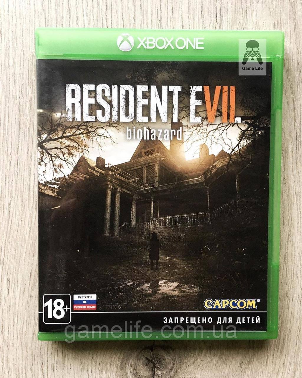Resident Evil 7 (рус. суб.) (б/у) Xbox One