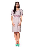 Изящное женское платье с вышивкой (размеры S-XL)