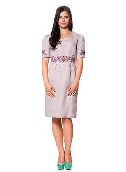 Витончена жіноча сукня з вишивкою (розміри S-XL)