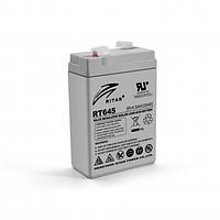 Аккумуляторная батарея AGM Ritar RT645 6V 4.5Ah