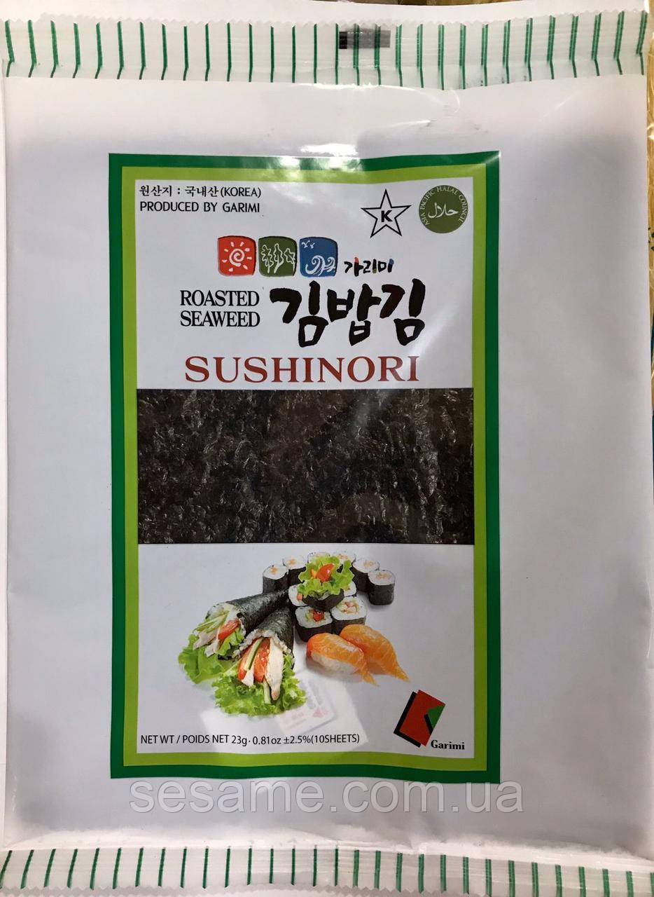 Водорості Норі SushiNori 10 аркушів 23г (Корея)