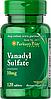 Ванадил сульфат (Vanadyl Sulfate) 10 мг 120 таблеток
