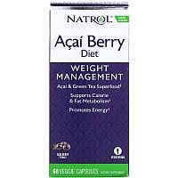 Асаи и зеленый чай для похудения (Acai & Green Tea ягодная диета) 60 капсул