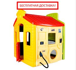 Игровой домик Супергородок Little Tikes (спортплощадка, школа, магазин, заправка) 444C00060