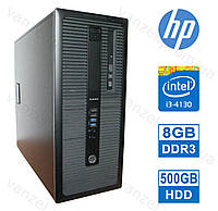 HP 600 G1 - Intel Core i3-4130/ 8GB DDR3/ 500GB HDD Системный блок, Компьютер, ПК