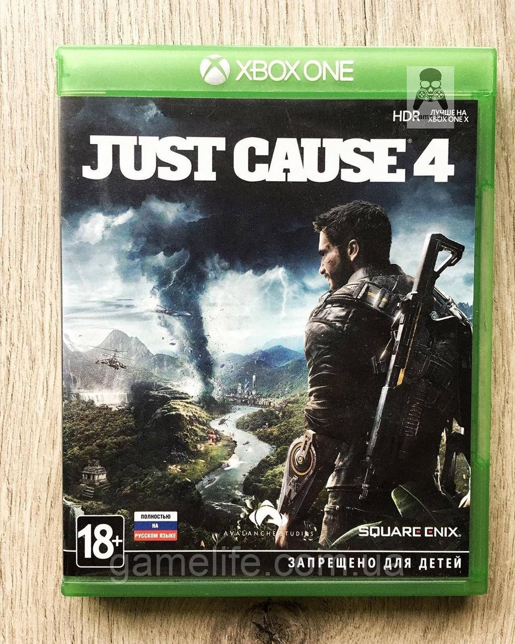 Just Cause 4 (рус.) (б/у) Xbox One